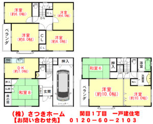 関目1丁目 一戸建住宅-1