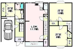 成育3丁目 一戸建住宅-1