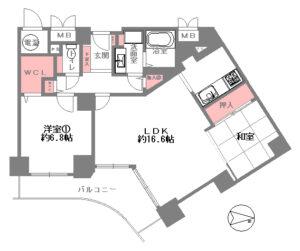 ベル・パークシティ画地Ⅱ G棟-1