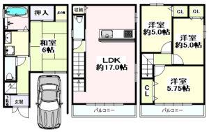 横堤1丁目 一戸建住宅-1