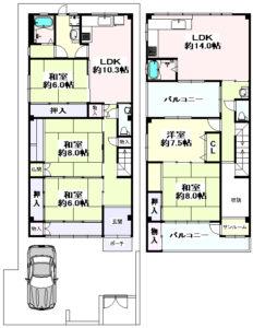 関目3丁目 一戸建住宅-1