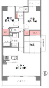 ファミール深江橋・アーバンステージ-1